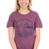 Ruby's Rubbish, Go Tell It On The Mountain, Women's Short Sleeve T-shirt, Heather Maroon, X-Large