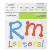Renewing Minds, Colorful Pin Points Bulletin Board Letters, Upper and Lowercase, 4 Inches, Primary Colors, 220 Pieces