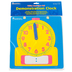 Learning Resources, Write-On/Wipe-Off Demonstration Clock, Grades K-2, 1 Each