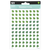 Creative Teaching Press, Palm Paradise Monstera Leaves Hot Spots Stickers, Green, 880 Stickers