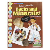 The Science Alliance, Robby Unearths Rocks and Minerals, Reproducible Paperback, 32 Pages, Grades 3-8