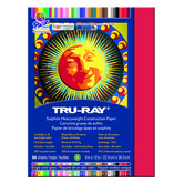 Tru-Ray® Sulphite Construction Paper, 9 x 12 inches, Holiday Red, 50 Sheets