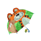 Stephen Joseph, Zoo Pop-Up Umbrella, Ages 3 and Older, 22 x 27 inches opened