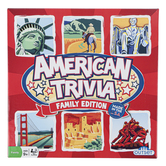 Outset Media, American Trivia Family Edition, Ages 9 and up, 2 to 8 Players