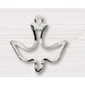 H.J. Sherman, Sterling Silver Dove Pendant Necklace, 18 inches