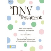 NIV Tiny Testament Bible, Imitation Leather, Multiple Colors Available