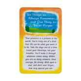 Blue Mountain Arts, Ten Things To Always Remember Wallet Card, 2 x 3 1/4 inches