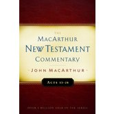 Acts 13-28, The MacArthur New Testament Commentary, by John MacArthur, Hardcover