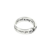 Dicksons, Jeremiah 29:11 Wide Mobius, Women's Ring, Silver Plated, Size 6