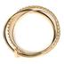 Faithful and Fabulous, Cross Bangle Bracelet Set, Zinc Alloy and Iron, Gold, 4 Pieces