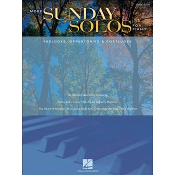 More Sunday Solos For Piano (Preludes, Offertories, & Postludes)