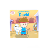 Little Bible Heroes, David and Esther, Flip-Over Book, by Mike Krome, Paperback