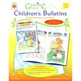 Carson-Dellosa, Growing in Grace Children's Bulletins, Reproducible, 112 Pages, Ages 3-6