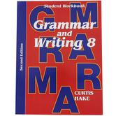 Saxon Grammar and Writing Student Workbook, Grade 8, Curtis Hake, 140 Pages