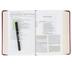 ESV Study Bible, Personal Size, TruTone, Crimson, Engraved Cross Design
