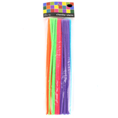 Playside Creations, Chenille Stems, 12 x 1/4 Inches, Assorted Colors, 50 Count