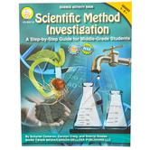 Carson-Dellosa, Scientific Method Investigation Activity Book, Reproducible, Grades 6-12