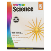 Spectrum, Science Workbook, Paperback, 144 Pages, Grade 5