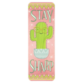 Renewing Minds, Cactus, Stay Sharp Bookmarks, 2 x 7 Inches, Pack of 36