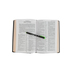 KJV Reference Bible, Giant Print, Bonded Leather, Black