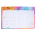 Retro Chic Collection, 2021-2022 Academic Planner, Multi-Colored, 8.5 x 11-inch, 32 Pages
