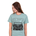 Ruby's Rubbish, Somewhere Between 90's Rap and Proverbs 31, Women's Short Sleeve T-shirt, Sage Heather, 2X-Large