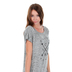NOTW, Faith Over Fear, Women's Dolman Sleeve Fashion Top, Black and White, 2X-Large