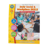 Life Skills Series, Daily Social and Workplace Skills, Grades 6-12, Paperback, 60 Pages