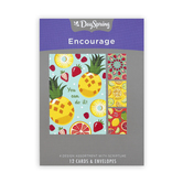 DaySpring, Fresh Fruit Encouragment Boxed Cards, 12 Cards with Envelopes