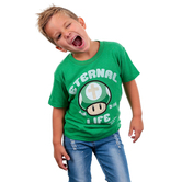 Gardenfire, John 3:16, Eternal Life, Kid's Short Sleeve T-Shirt, Kelly Green, Small