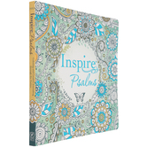 NLT Inspire: Psalms: Color & Creative Journaling Through Psalms, Paperback