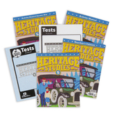 BJU Press, Heritage Studies 5 Complete Subject Kit, 4th Edition, Grade 5