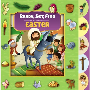 Ready, Set, Find Easter, by Zondervan, Board Book