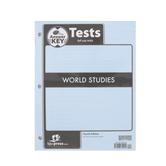 BJU Press, World Studies Test Answer Key, 4th Edition, Grade 7
