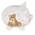 Youngs, Inc., Baby Piggy Bank, Ceramic, 5 3/4 inches
