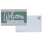 Broadman Church Supplies, Welcome To Our Class Postcards, 5 1/2 x 3 1/2 inches, Set of 25