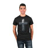 NOTW, I Love My Wife Cross, Men's T-Shirt, Black, L-2XL
