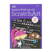 Retail Centric Marketing, Step Up Kids Numbers Workbook with Scratch Art, Paperback, 28 Pages, Grades Pre K-1