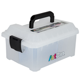 ArtBin, Sidekick Cube with Tray, Plastic, Clear, 8 x 11 1/2 inches