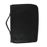 Holman, Organizer Bible Cover, Imitation Leather, Black, Multiple Sizes Available