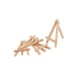 Master's Touch, Mini Art Easels, Natural 4 pack