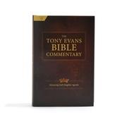 The Tony Evans Bible Commentary: Advancing God's Kingdom Agenda, by Tony Evans, Hardcover