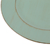 Turquoise Rustic Plate Charger, Plastic, 13 inches