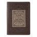Christian Art Gifts, Proverbs 16:9 A Man's Heart Journal, Imitation Leather, Brown, 400 Pages