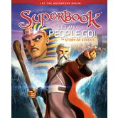 Let My People Go: The Story of Exodus, Superbook Series, by CBN, Hardcover