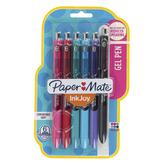PaperMate, Inkjoy Gel Pens, Medium Point, Assorted Colors, Pack of 6