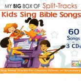 Wonder Kids Soundtracks, Big Box of Split-Track Kids Bible Songs: 3 CD set, by Wonder Kids Choir