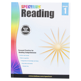 Carson-Dellosa, Spectrum Reading Workbook Grade 1, Paperback, 158 Pages, Ages 6-7