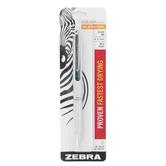 Zebra, Sarasa Grand Retractable Gel Ink Pen, Multiple Colors Available, Black Ink, Medium Point