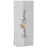 Kay Dee Designs, Sweet Home Tea Towel, Cotton, Gray, 28 x 18 inches